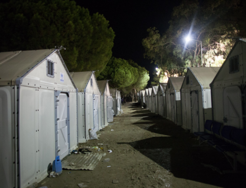 The Praying Man – Volunteer Chronicles: Lesvos, Greece